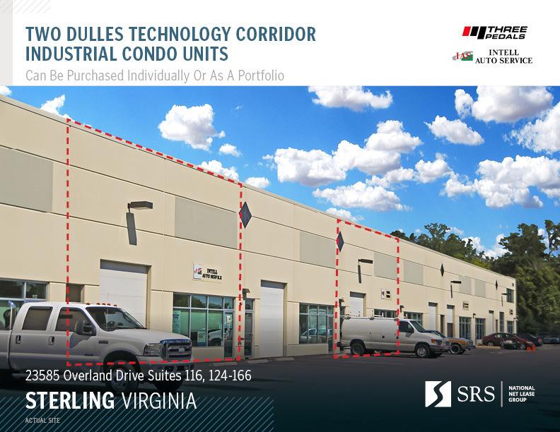 Sterling, VA - Industrial Condo Units