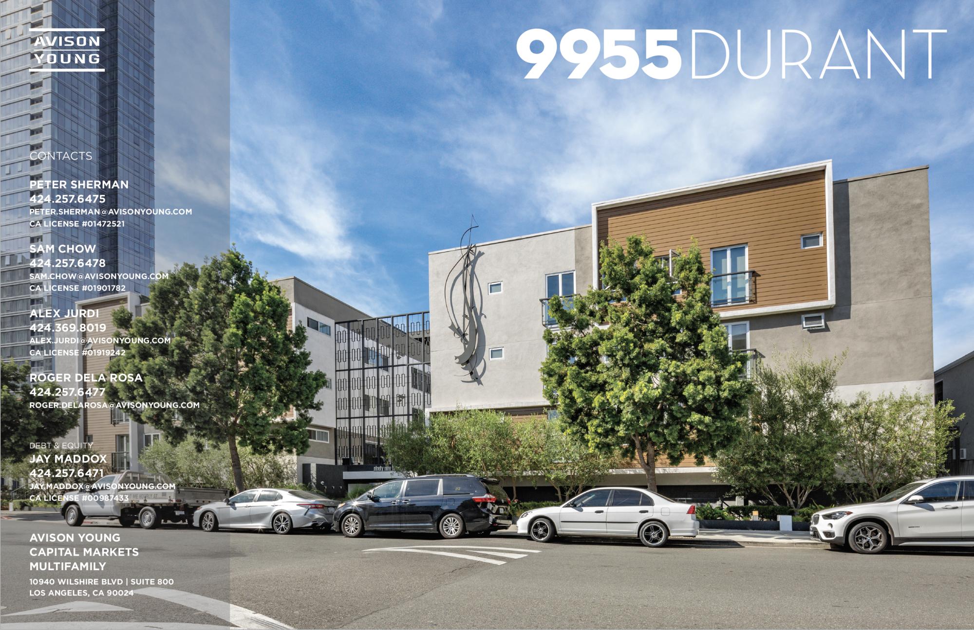 <div>9955 Durant Drive</div><div>Beverly Hills, CA 90212</div>