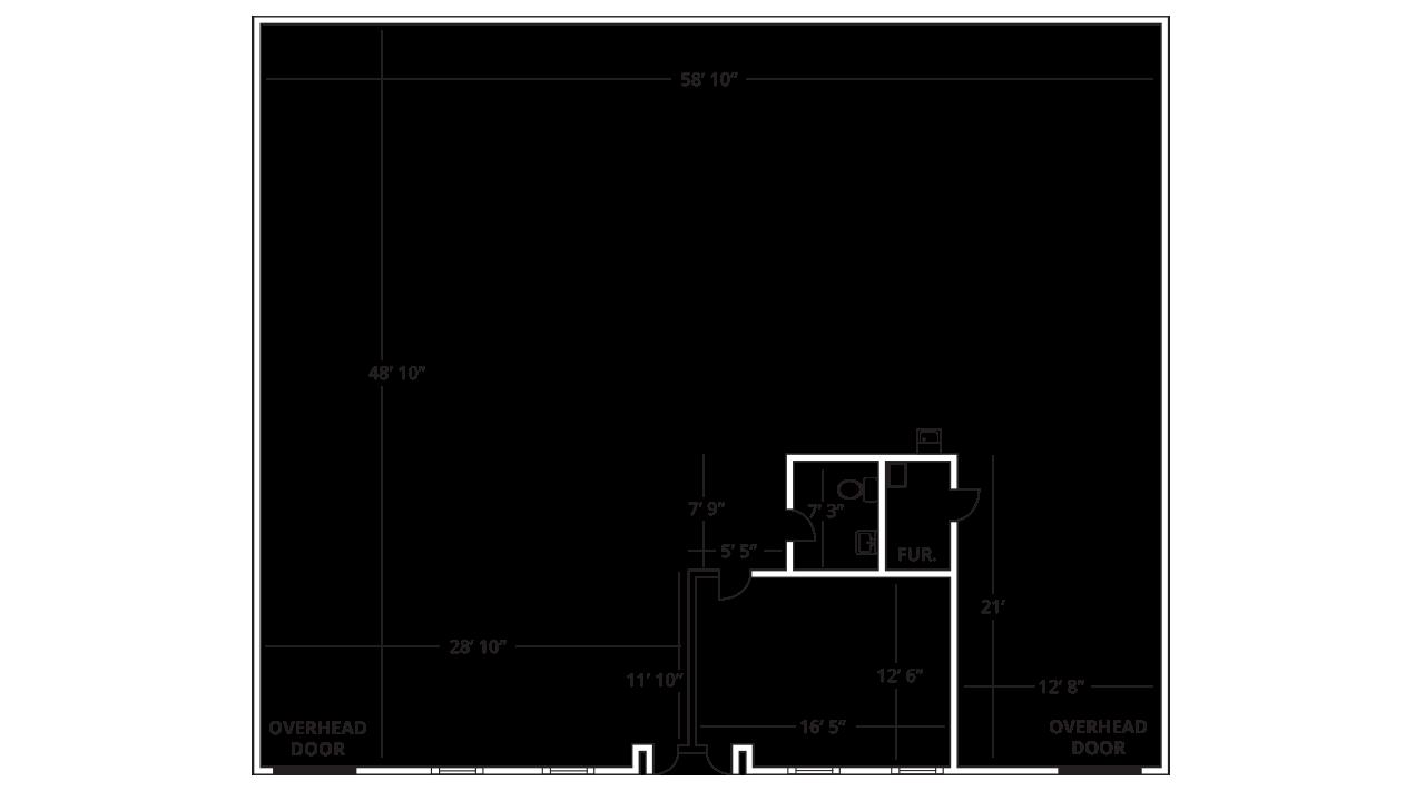 Suites 20, 22 Industrial/Flex, Warehouse, Instructional