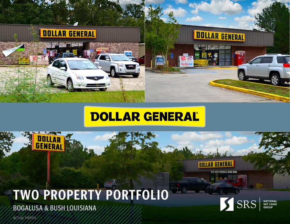 Dollar General LA Portfolio - Bogalusa and Bush, LA