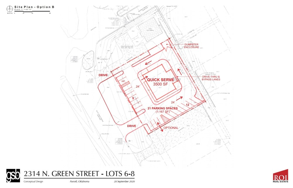 Retail site | 2314 N. Green Ave  Purcell, OK