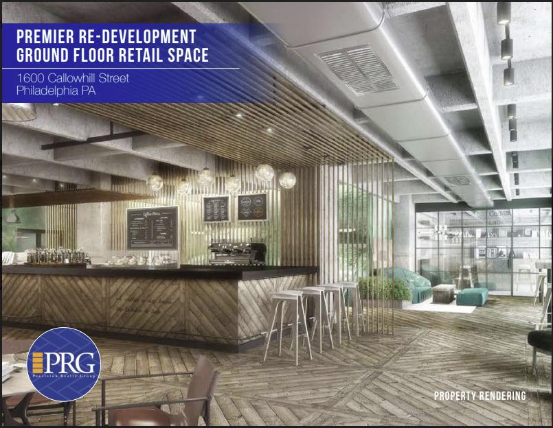 Premier Redevelopment Retail Space in Center City