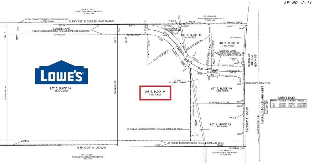Lowes Outparcel Land - 6101 Lowes Lane