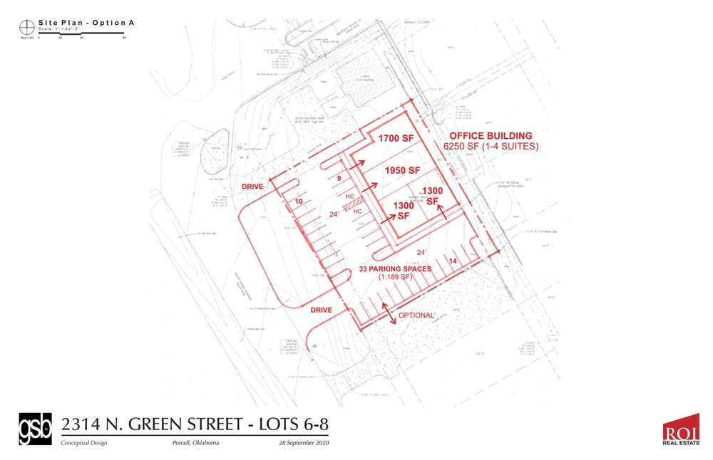 Build to Suit | 2314 N. Green Ave.  Purcell, OK