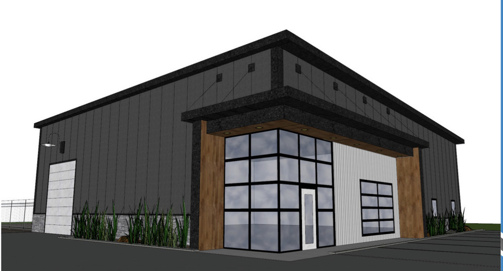 Proposed Built - Commercial Building