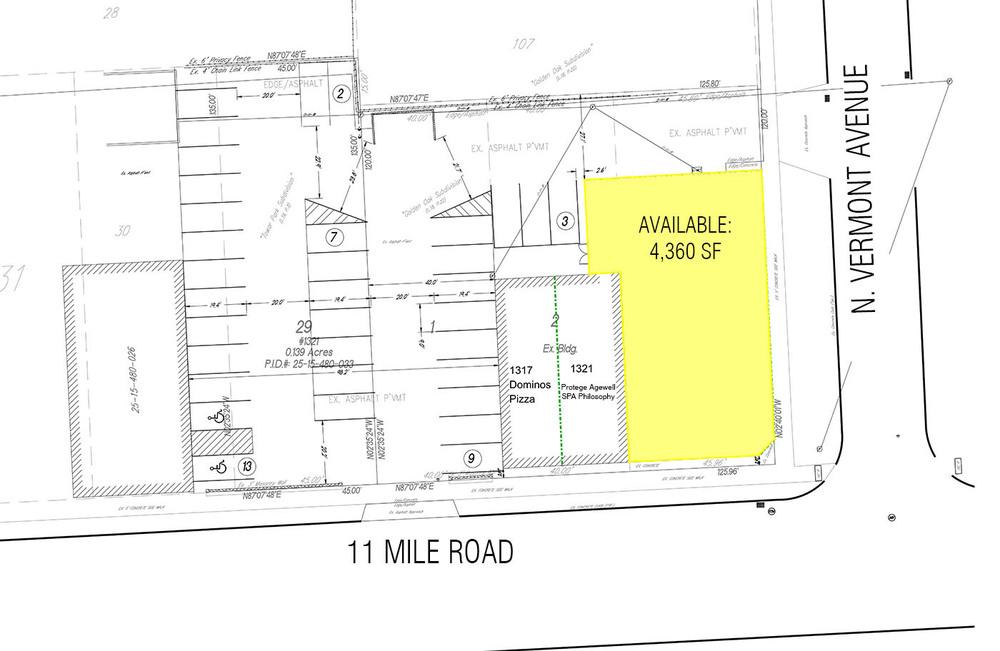 1325 E. 11 Mile Road