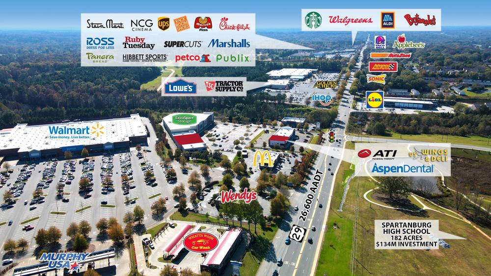 SC Spartanburg – Eastpointe Shopping Center