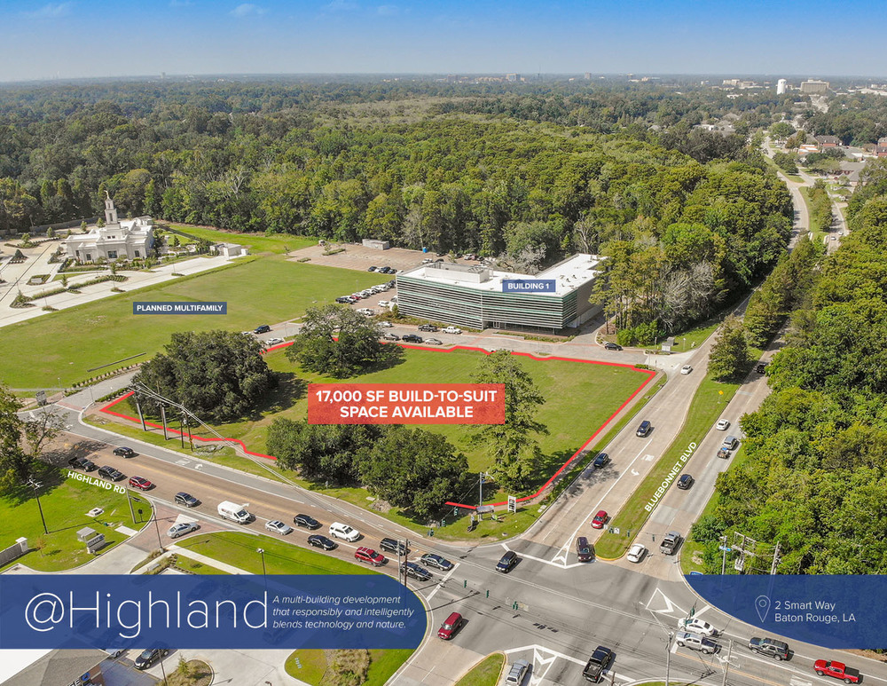 Building 2 @Highland - Office, Restaurant, Retail Space Available