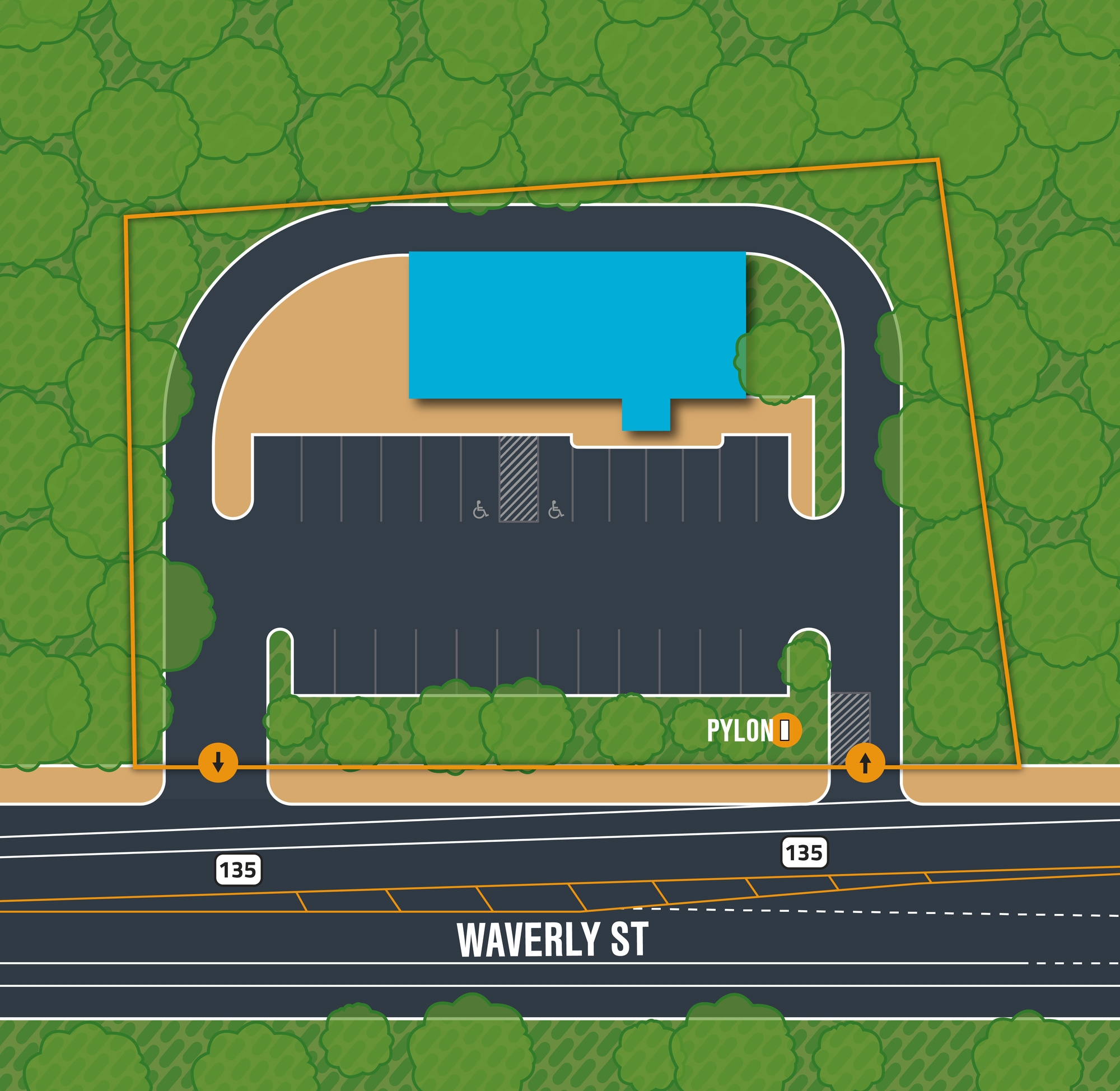 DRIVE-THRU PAD SITE FOR SALE