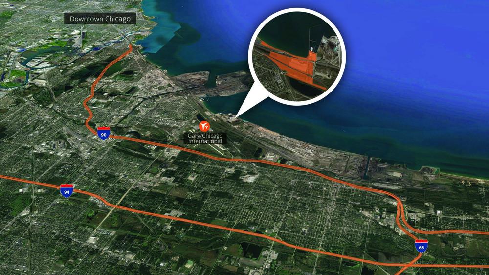 132 acre redevelopment site<br/><div>1 Buffington Harbor Rd </div><div>Gary, IN 46406</div>