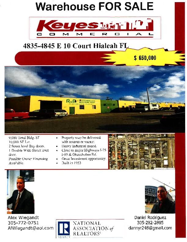 East Hialeah Mutli-bay Warehouse