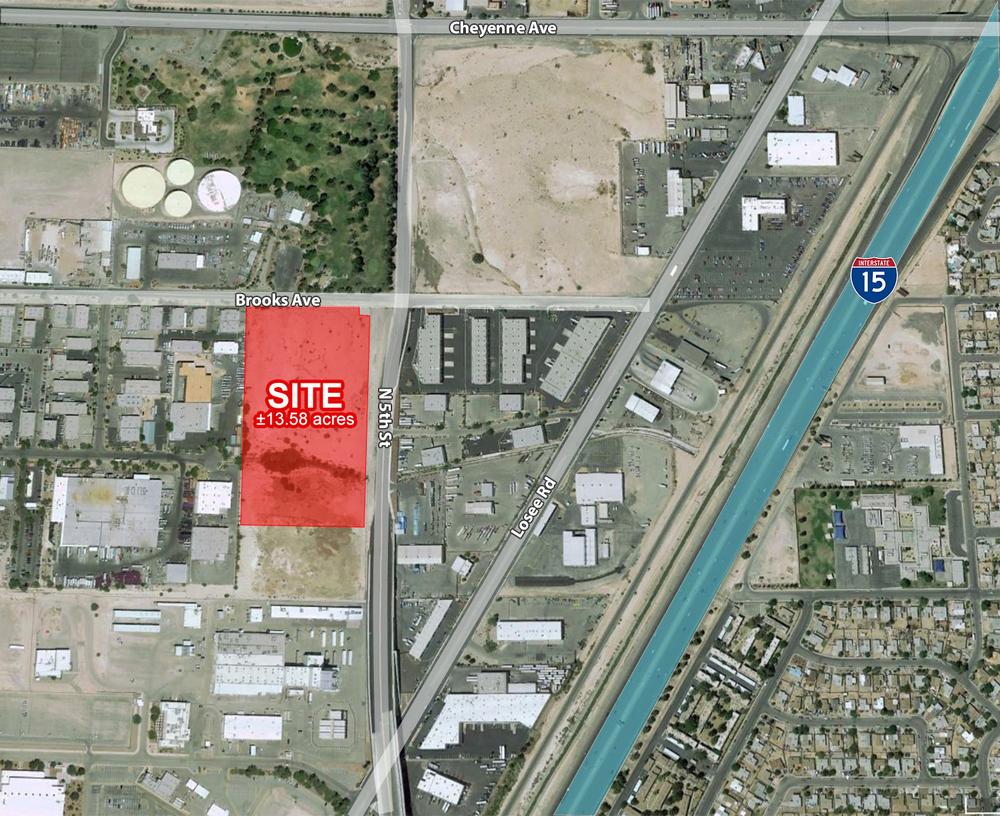 13.58 Acres on N 5th & Brooks<br/><div>N5th St & Brooks Ave</div><div>North Las Vegas, NV 89030</div>