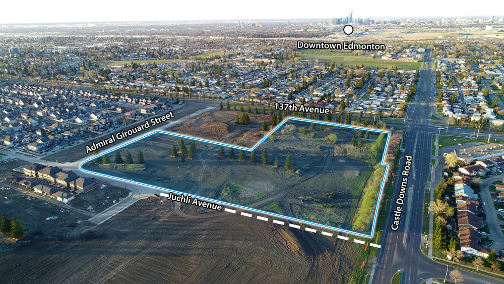 Griesbach Mixed-Use Development Land<br/><div>137th Street and Castledowns Road</div><div>Edmonton, AB</div>