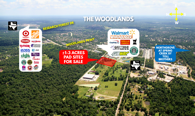 1-3 Acres Pad Sites Available FM 2978