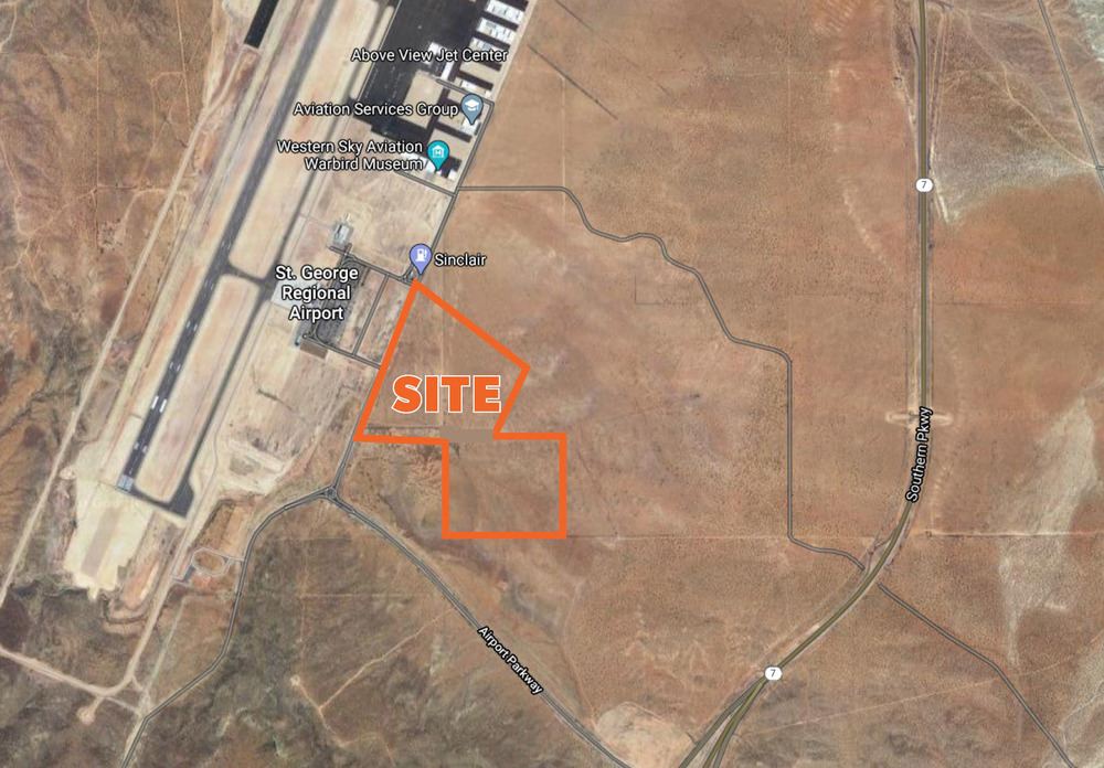 <div>Airport Parkway</div><div>St. George, UT 84790</div>