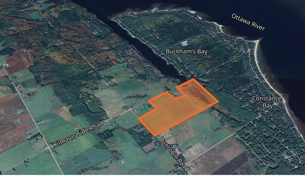 Land Development Opportunity in Constance Bay<br/><div>1018 Kilmaurs Side Road</div><div>Woodlawn, ON K0A 3M0</div>