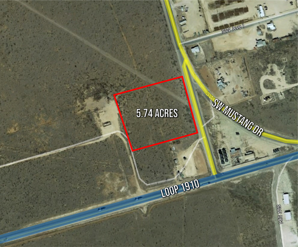 5.74 Acres Raw Land in Andrews