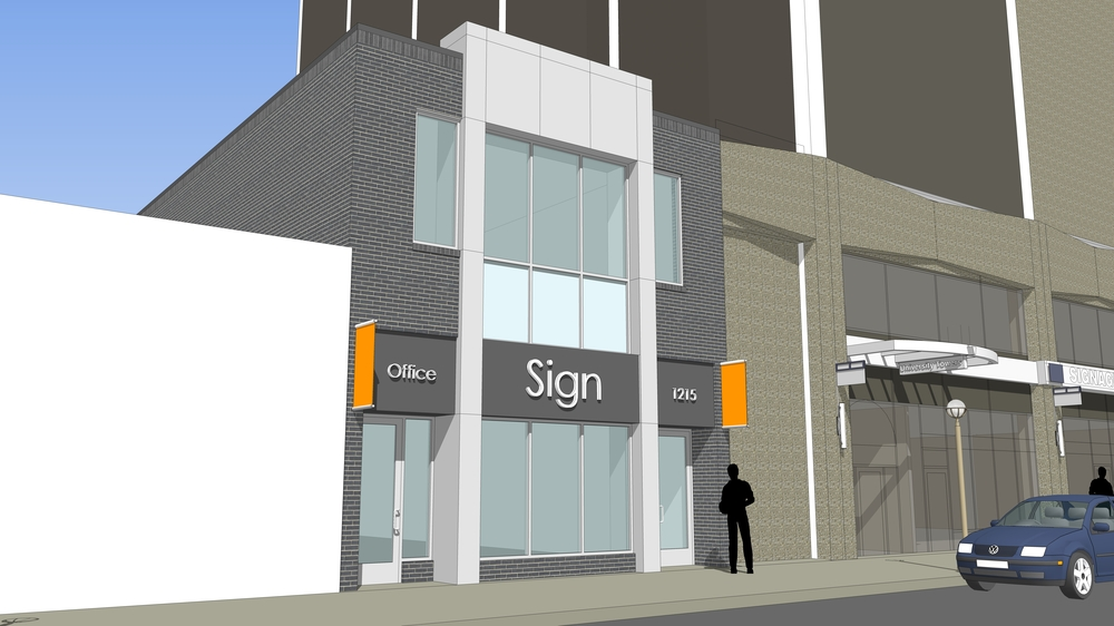 New Construction Downtown Retail/Office Space For Lease