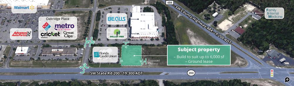 SR 200 Build to Suit Opportunity<br/><div>SW SR 200</div><div>Ocala, FL 34481</div>