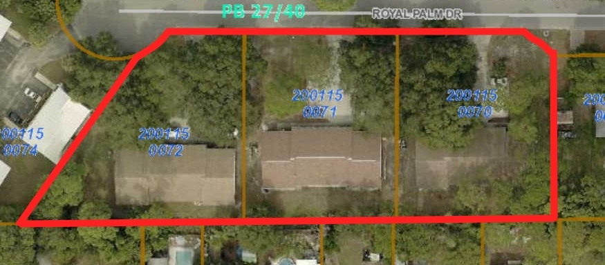 910, 918, 926 Royal Palm Dr., Sarasota, FL 34234