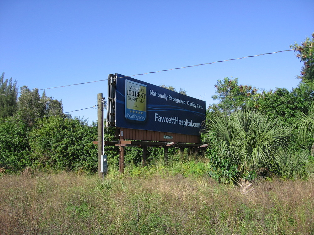 Sign Board - On Property