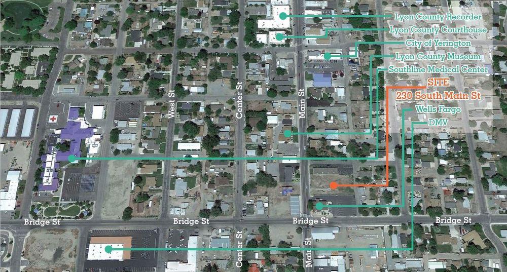 <div>230 South Main Street</div><div>Yerington, NV 89447</div>