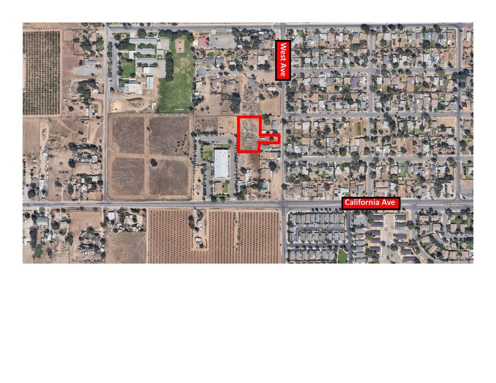 ±1.25 Acres of Commercial Parcel Located in Fresno, CA