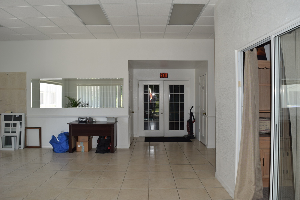 Interior sales office