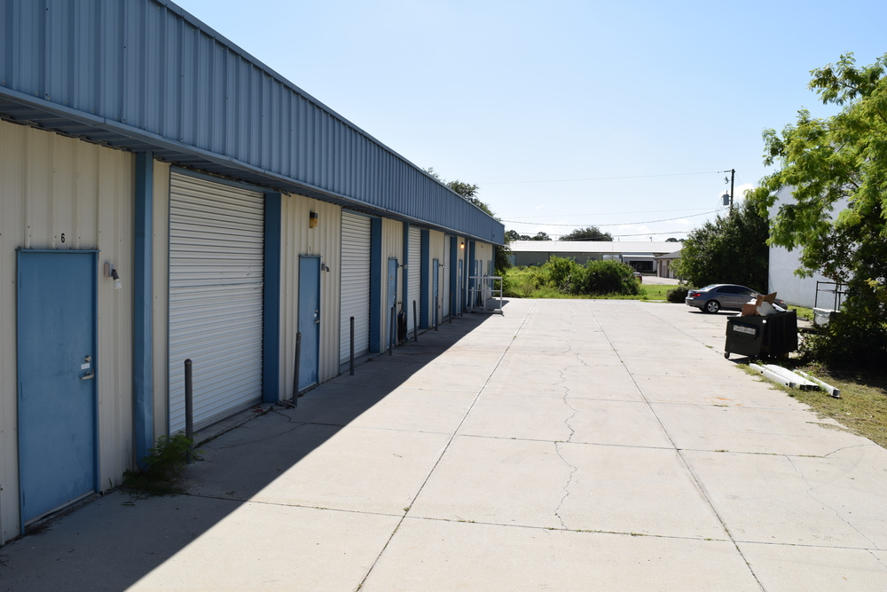 ample parking on the property