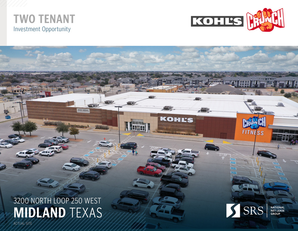 Midland, TX - Crunch Fitness & Kohl's