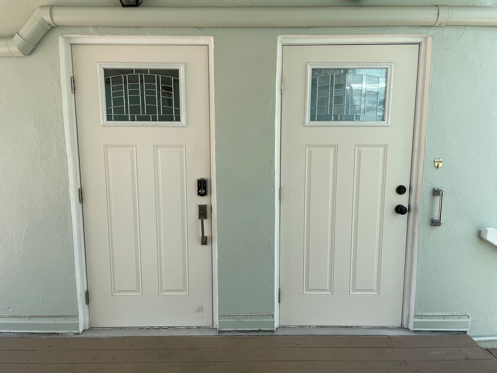 2nd Floor Apartment Doors