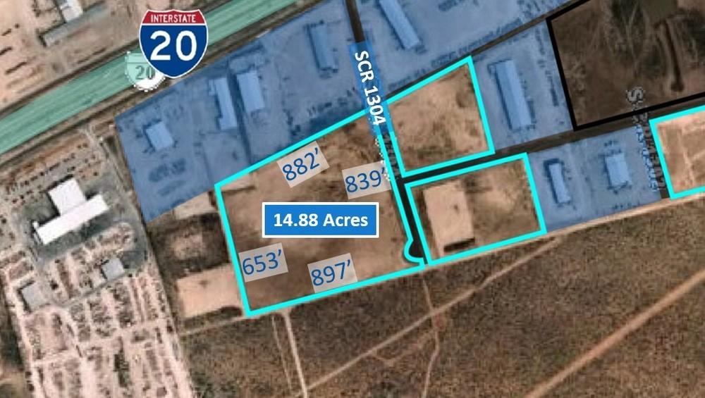 14.88 Acre Lot off I-20