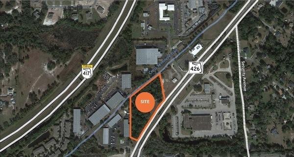 3-Acre Site Oviedo<br/><div>West State Road 426</div><div>Oviedo, FL 32765 </div>