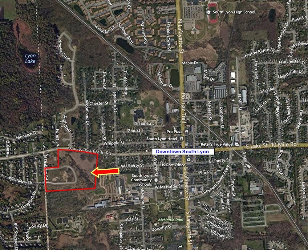32+/- Acres Ten Mile & Dixboro