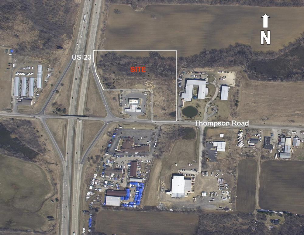 6.13 Acres US-23 & Thompson
