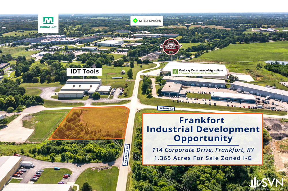 114 Corporate Dr - Frankfort Development Lot For Sale