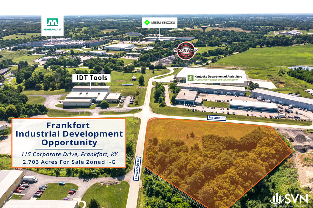 115 Corporate Dr - Frankfort Development Lot For Sale
