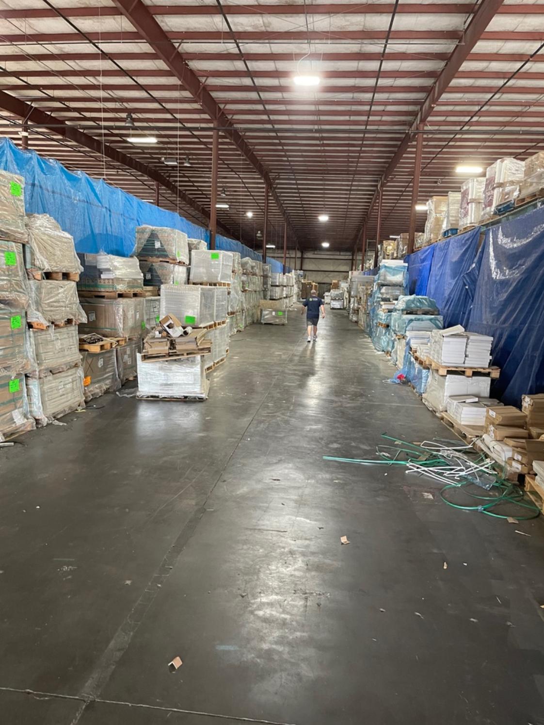 6000-7700 sqft Warehouse Space