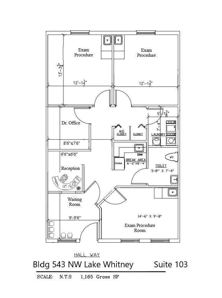 Lake Whitney Campus - 543 Suite 103