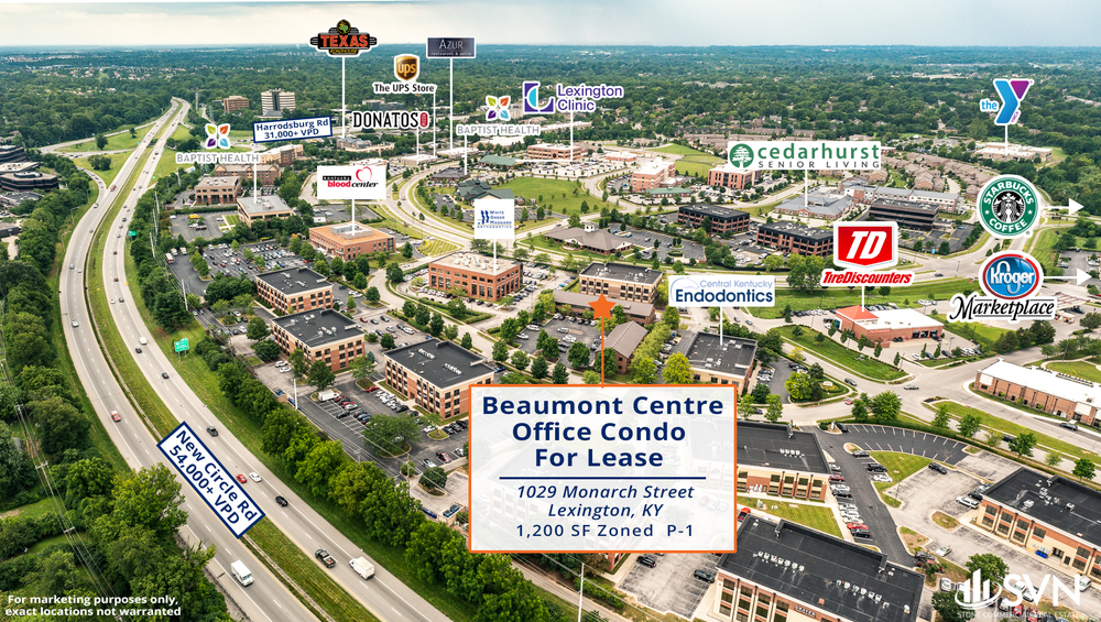 1029 Monarch Street -  Beaumont Centre Office Condo For Lease