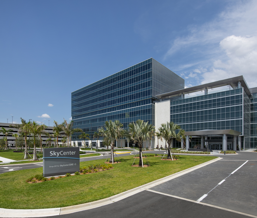 SkyCenter One<br/><div>5411 SkyCenter Drive</div><div>Tampa, FL 33607</div>
