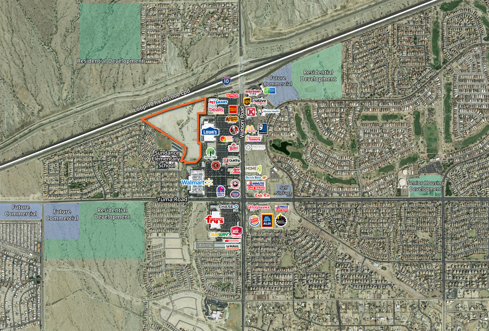 ±30 Acres at Watson Rd and I-10