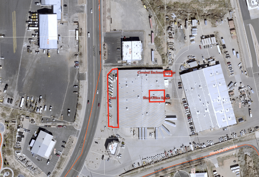 Shop and Office Space Near I-15, Costco