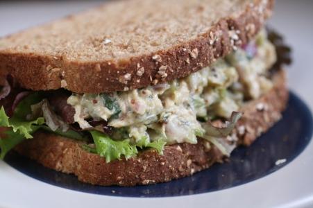 Bodybuilding Parsley Capers And Lemon Tuna Sandwich Recipe