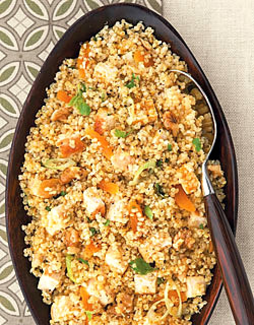 Bodybuilding Healthy Quinoa With Chicken Recipe