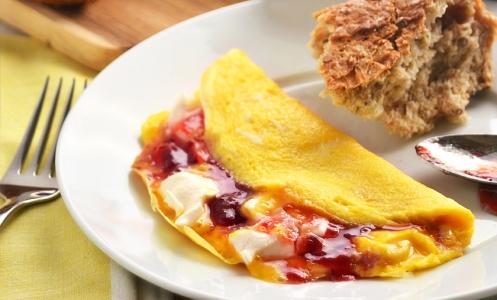 Bodybuilding Fruit Omelette Recipe