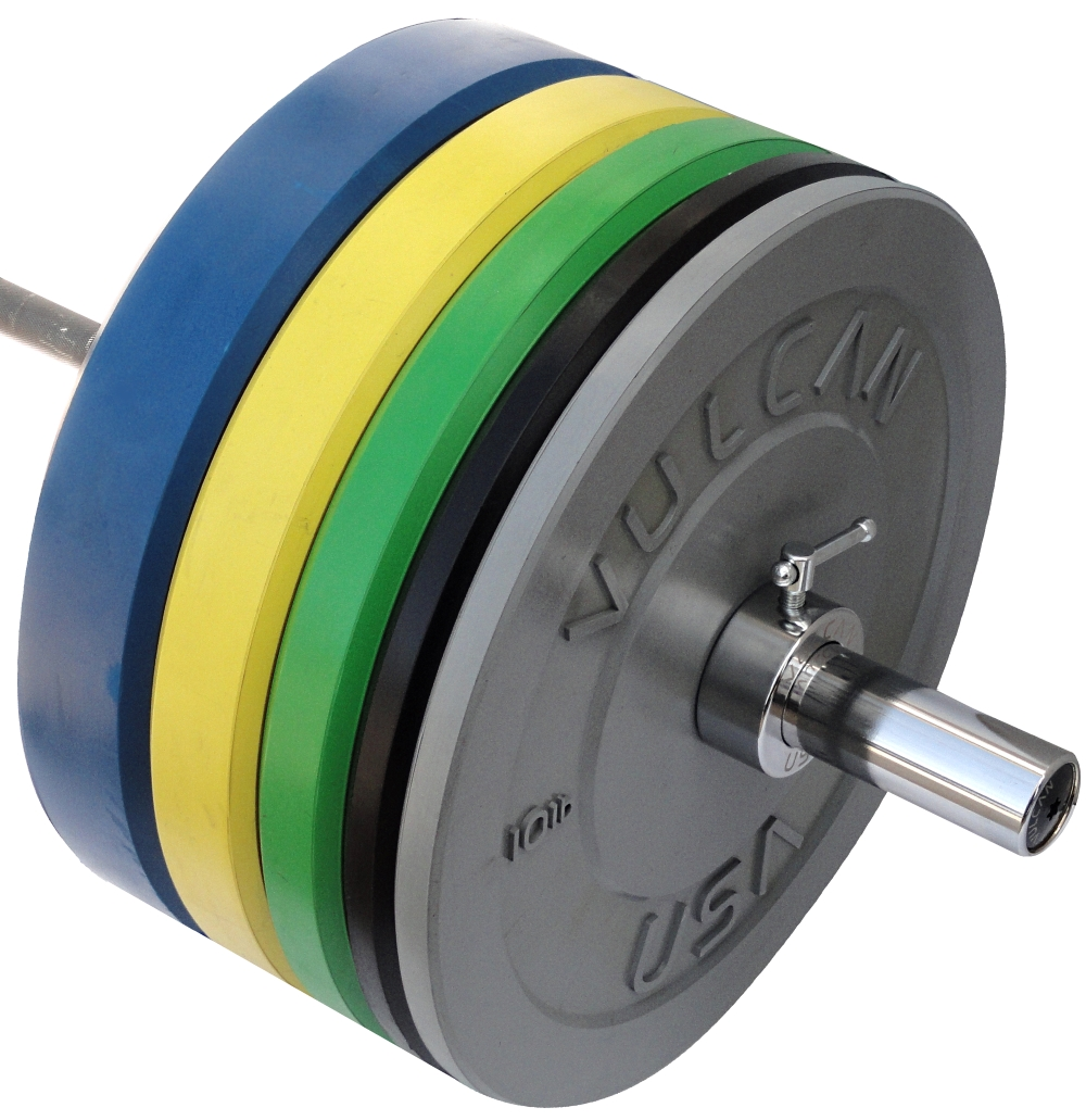 Buy 305 Lb Color Bumper Plates And Olympic Bar Set