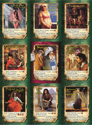 City of the Gods character card