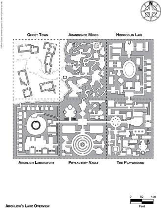 Arch-litch lair megadungeon map page 5