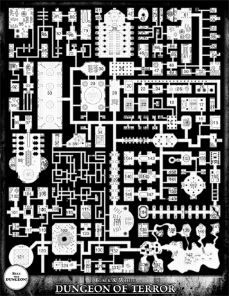 Dungeon of Terror Referee Map